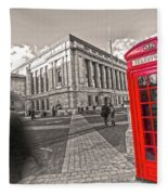 London Telephone 2 C Fleece Blanket