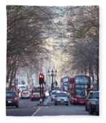 London Thoroughfare Fleece Blanket