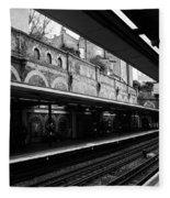 London Underground Station Fleece Blanket