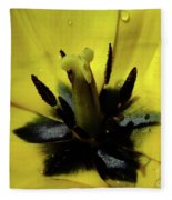 Lone Beauty - Tulip Fleece Blanket
