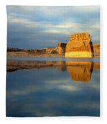 Lone Rock Glow Fleece Blanket