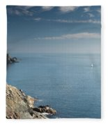 Lone Sail Fleece Blanket