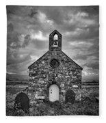 Lonely Chapel Fleece Blanket