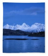 Lonely Lighthouse Fleece Blanket