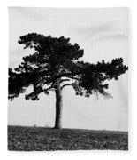 Lonely Pine Fleece Blanket