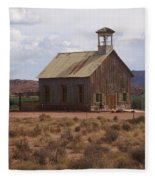 Lonely Schoolhouse Fleece Blanket