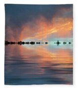 Lonesome Bird Fleece Blanket