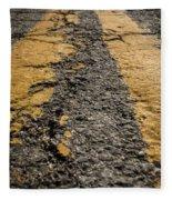Lonesome Highway Fleece Blanket