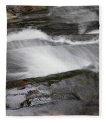 Long Creek Falls Swoosh Fleece Blanket