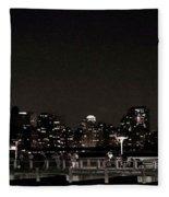 Long Island City, Ny. Fleece Blanket