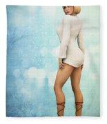 Long Legs Fleece Blanket