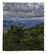 Long Misty Days Fleece Blanket