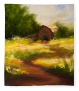 Long Road Home Fleece Blanket