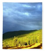 Long Shadows Fleece Blanket