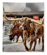 Longhorn Fleece Blanket