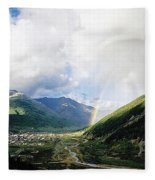 Longing Fleece Blanket