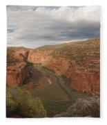 Longs Canyon 0145 Fleece Blanket