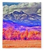Longs Peak Fleece Blanket
