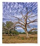 Lonley Tree Fleece Blanket