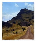 Lonly Road Fleece Blanket