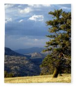 Lonly Tree Fleece Blanket