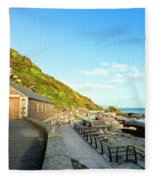 Looe Boathouse Fleece Blanket