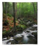 Look Deep Into Nature Fleece Blanket