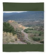Look Down Fleece Blanket