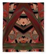 Look Within - Abstract Fleece Blanket
