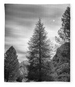 Looking For The Sky Into The Woods Fleece Blanket