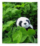 Looking For A Lucky Clover Fleece Blanket