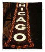 Looking Up Chicago Fleece Blanket
