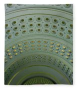 Looking Up In Union Station -- A Westward View Fleece Blanket