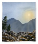 Lookout Rock Fleece Blanket