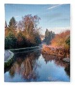 Loose Mill Pond Fleece Blanket