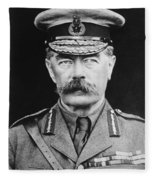 Lord Herbert Kitchener Fleece Blanket