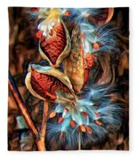Lord Of The Dance - Paint 2 Fleece Blanket