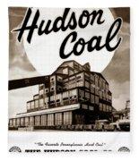 Loree Colliery Larksville Pa. Hudson Coal Co  Fleece Blanket