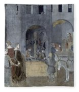 Lorenzetti: Good Govt Fleece Blanket