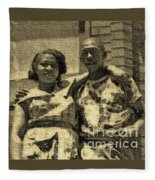 Lorenzo  Madgie And Angela Fleece Blanket