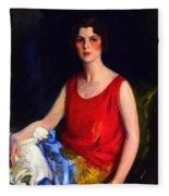 Loretta Hines Howard Fleece Blanket