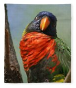 Lorikeet Fleece Blanket