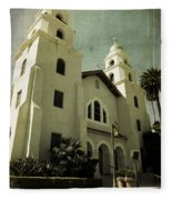 Beverly Hills Church Fleece Blanket