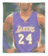 Los Angeles Lakers Kobe Bryant 2 Fleece Blanket