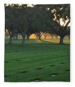 Los Angeles National Cemetary Fleece Blanket