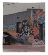 Los Angeles Urban Art Fleece Blanket
