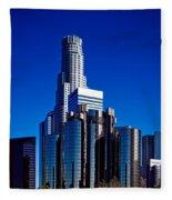 Los Angeles' Westin Bonaventure Hotel Fleece Blanket