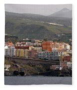 Los Gigantes From The Sea 2 Fleece Blanket