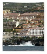 Los Gigantes From The Sea Fleece Blanket