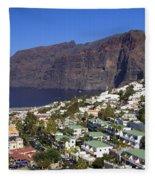 Los Gigantes In Tenerife Fleece Blanket